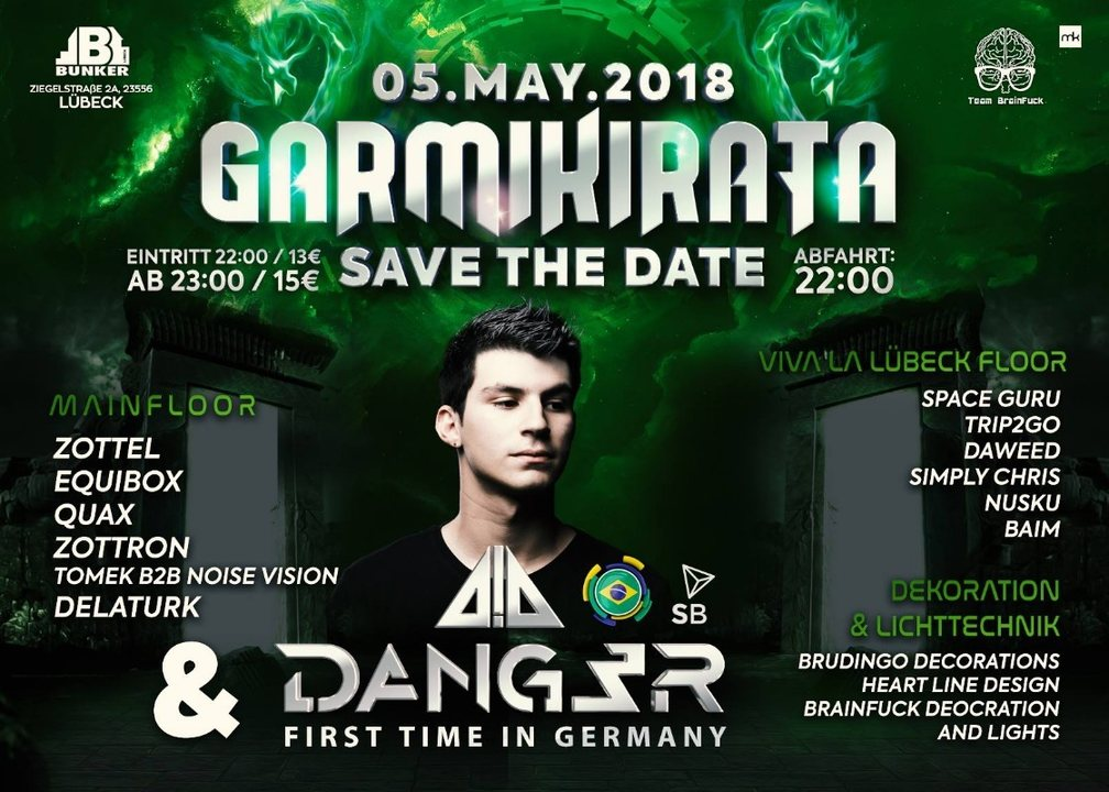 Garmikirata 2018 Dang3r Live 1. TIME IN GERMANY 5 May '18, 22:00