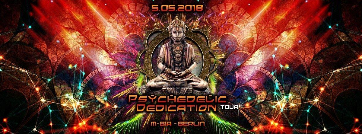 Psychedelic Dedication on Tour // Berlin // DoubKore, Locoweed, Kleysky 5 May '18, 23:00