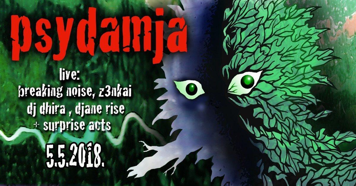 Psydamja w/Digital Shamans Records 5 May '18, 20:00