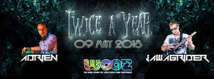Ƹ̵̡ӜƷ Twice a Year Ƹ̵̡ӜƷ w// Audiostatik / Jawgrinder / Adrien 9 May '18, 22:00
