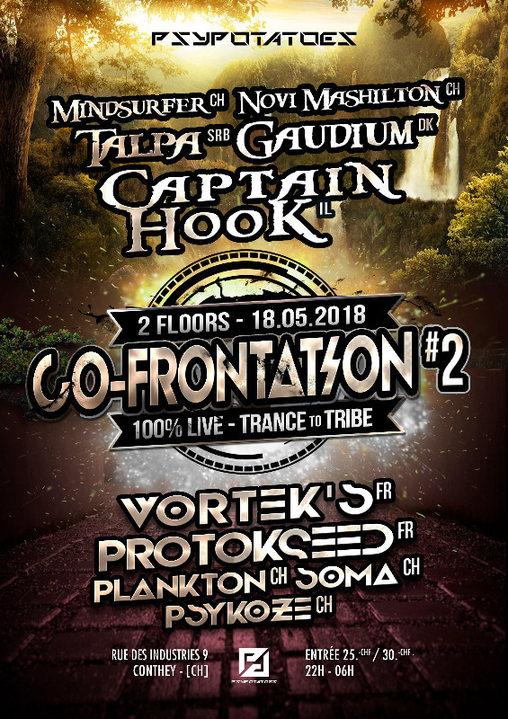 Psypotatoes - Co-Frontation 2 18 May '18, 22:00