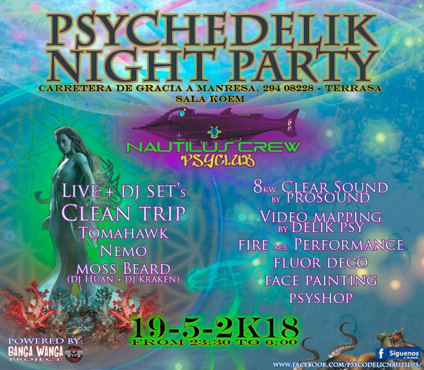 Psychedelik Night Party 19 May '18, 23:30