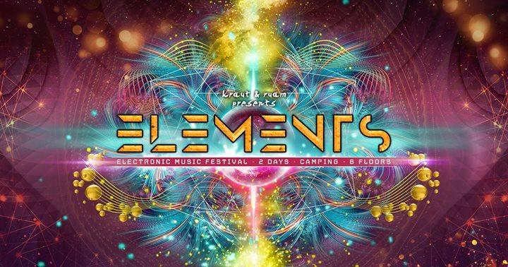 ELEMENTS Festival 25-27.Mai 2018 25 May '18, 16:00
