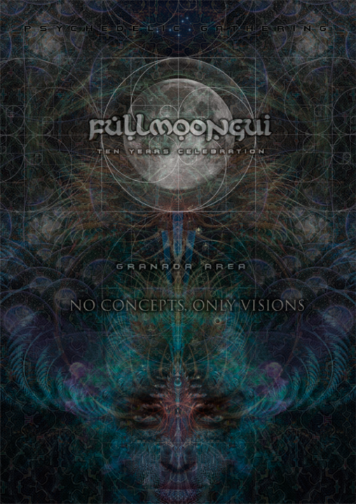 Fullmoongui - Only Visions (10º Aniversario) 25 May '18, 18:00