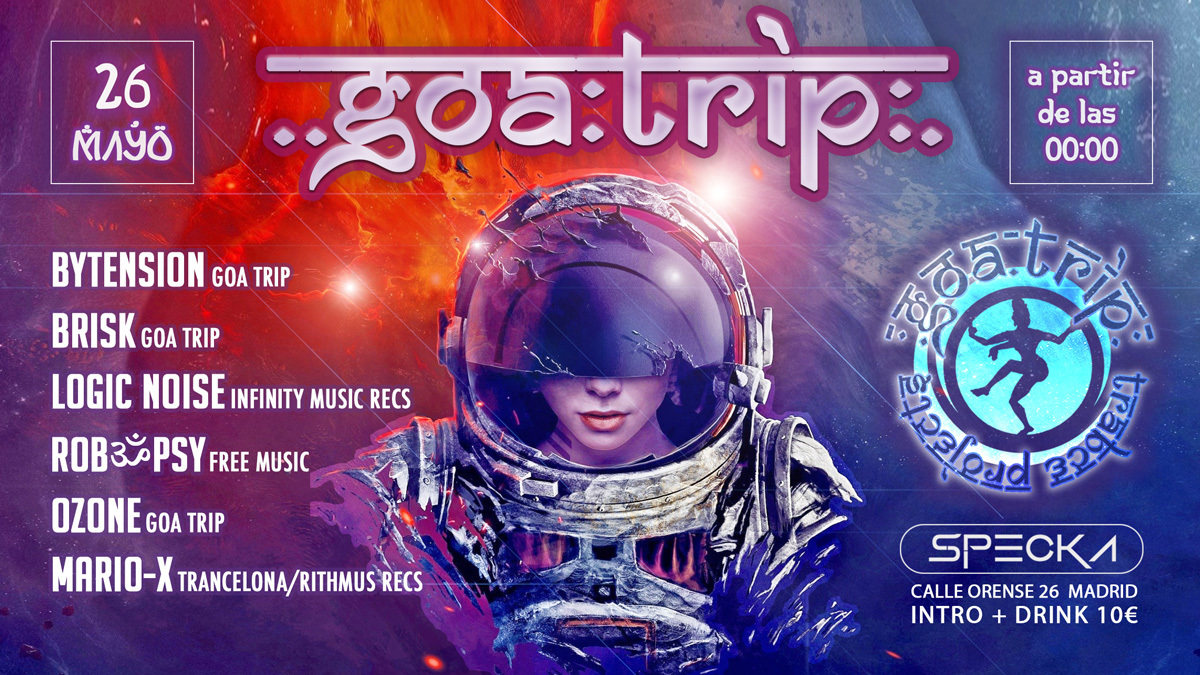 GOA TRIP Trance Projects 26 May '18, 23:30