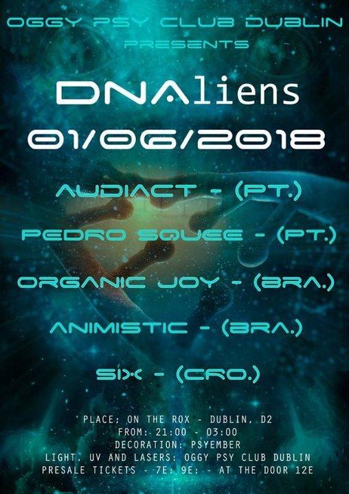 DNAliens 1 Jun '18, 21:00