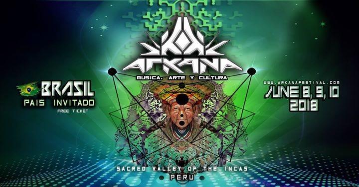 Arkana Festival 2018 8 Jun '18, 14:00
