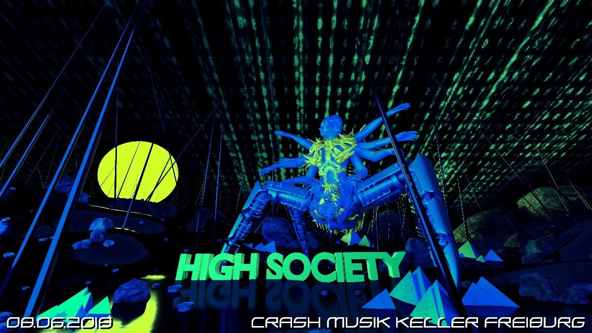 HIGH SOCIETY 8 Jun '18, 23:00