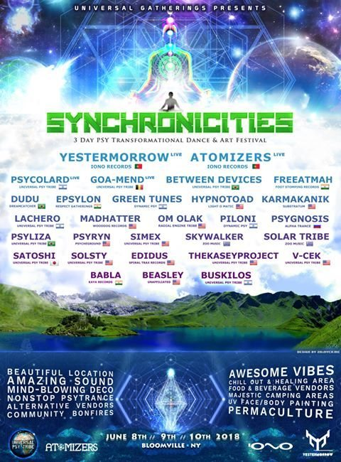 Synchronicities 8 Jun '18, 16:00