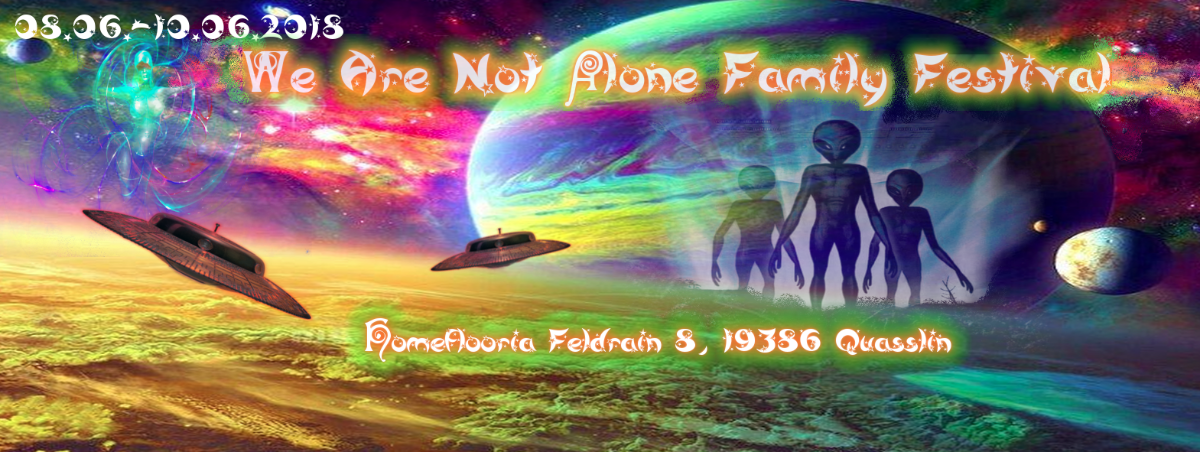 We Are Not Alone Family Festival 8 Jun '18, 15:00