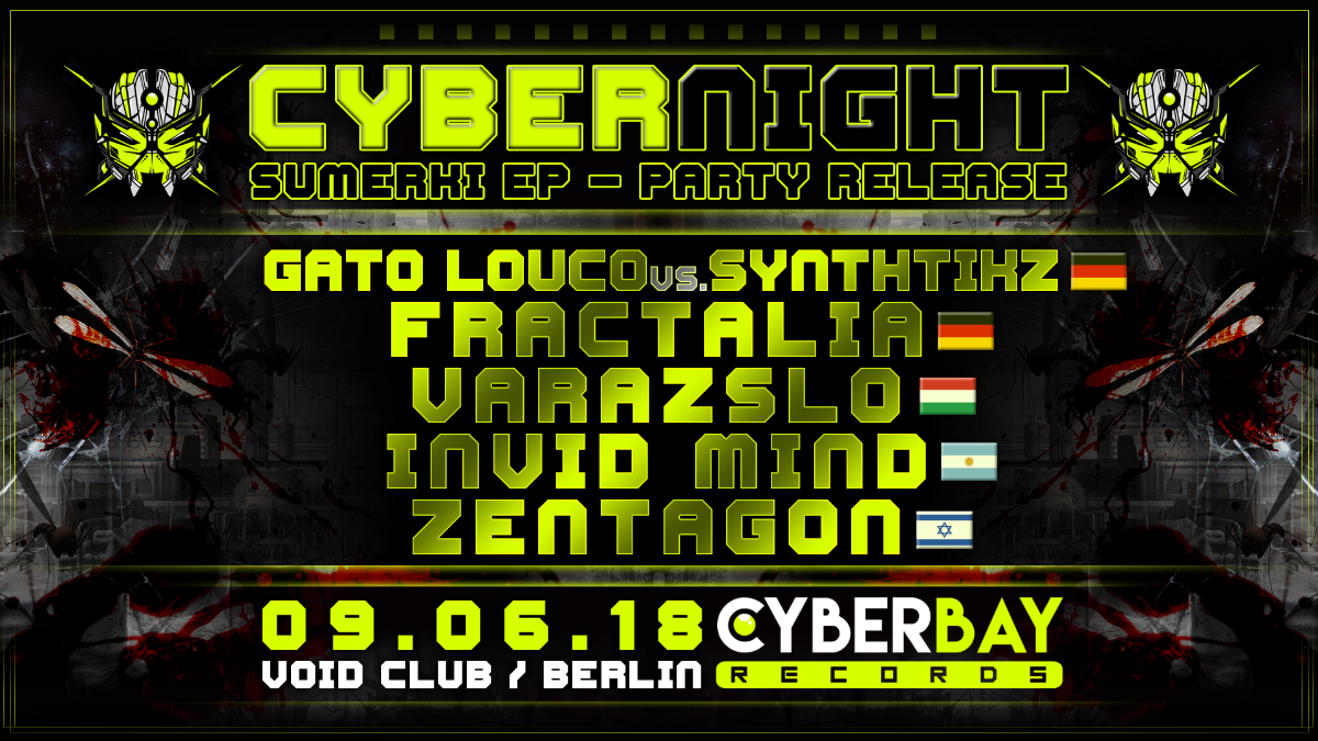 CyberBay - Night 9 Jun '18, 23:00