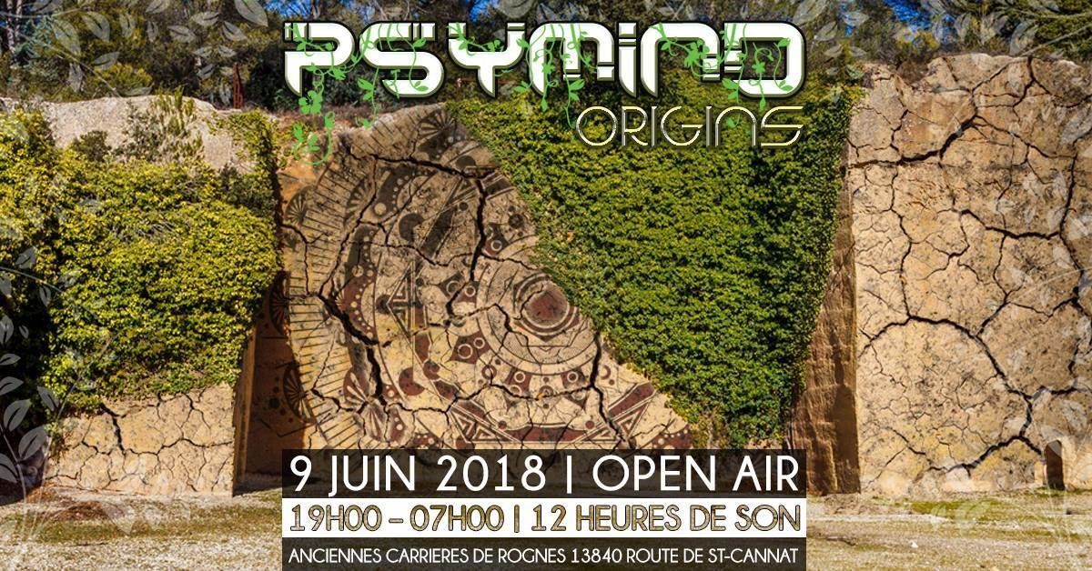 Psymind Origins 2018 9 Jun '18, 14:00