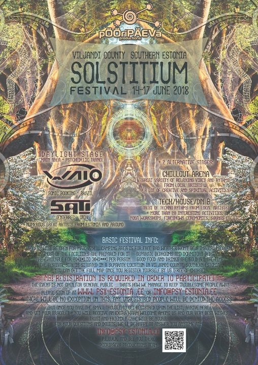 SOLSTITIUM 2018 14 Jun '18, 18:00