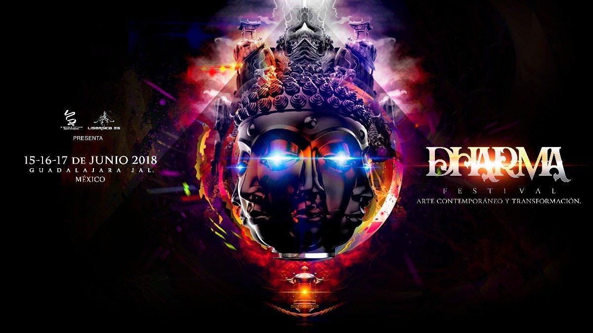 Dharma Trance Festival 2018: 15, 16 y 17 de junio. 15 Jun '18, 11:00