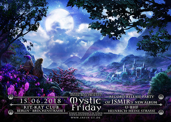 The Mystic Friday - Record Release Party from ISMIR's new Album 15 Jun '18, 23:00