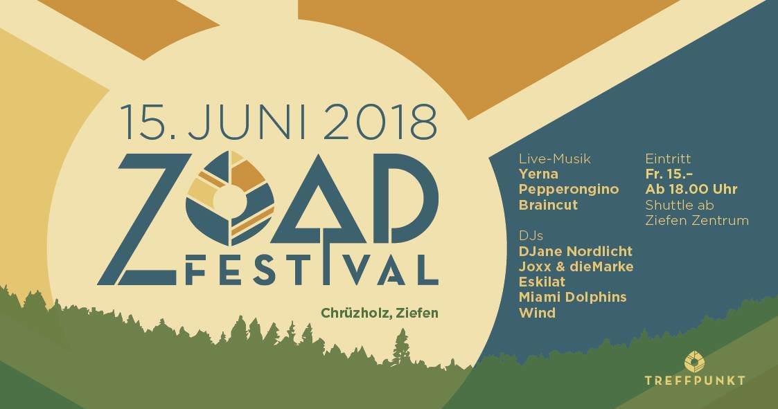 ZOAD Festival 2018 15 Jun '18, 18:00