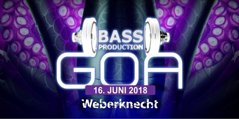 Bassproduction Goa Party 16 Jun '18, 22:00