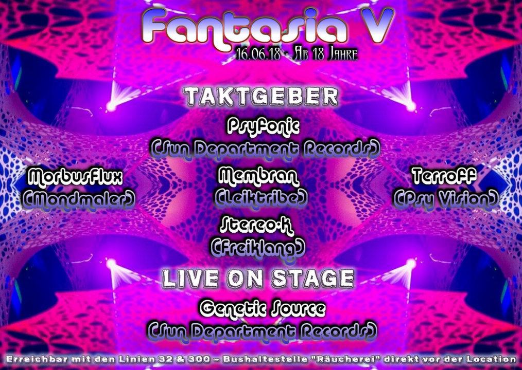 Fantasia 5 16 Jun '18, 23:00