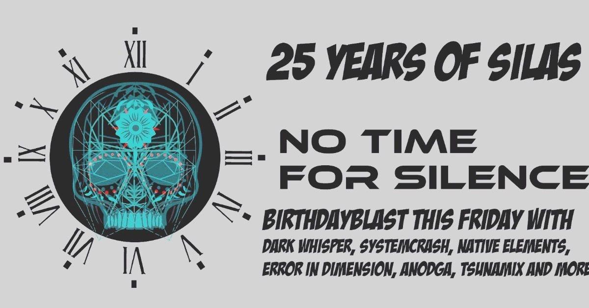 NTFS Masterblast ; 25 years of Silas 22 Jun '18, 22:00