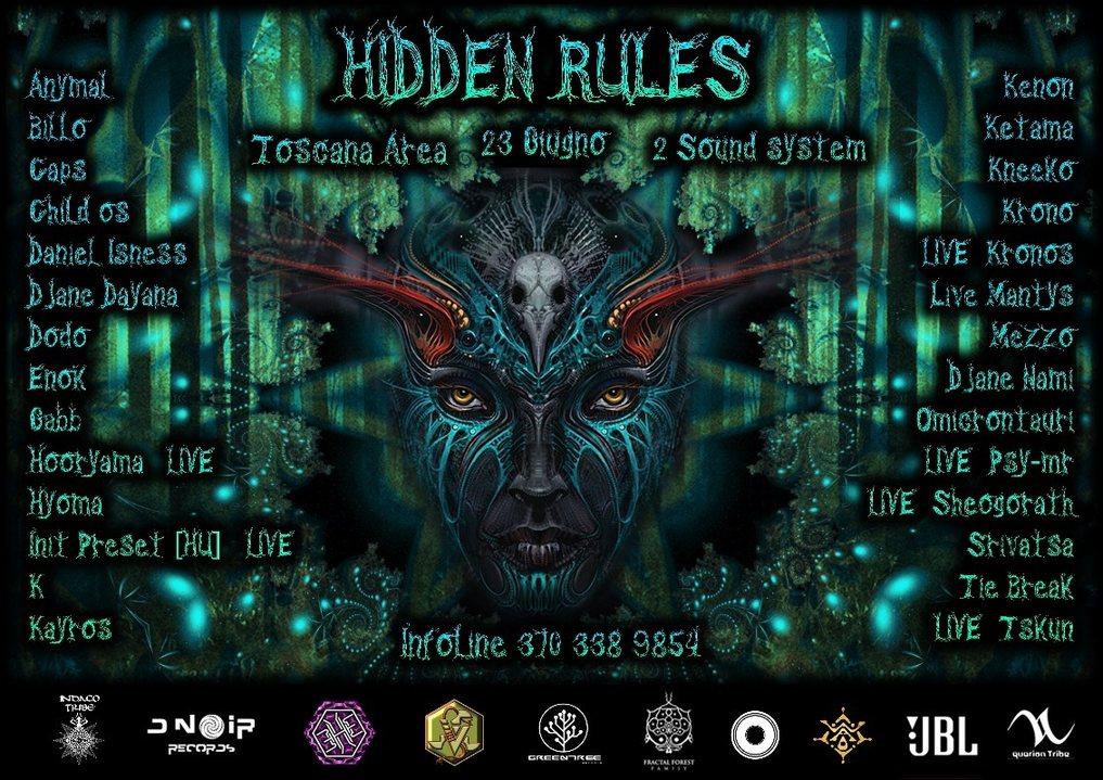 Hidden Rules 23 Jun '18, 22:00