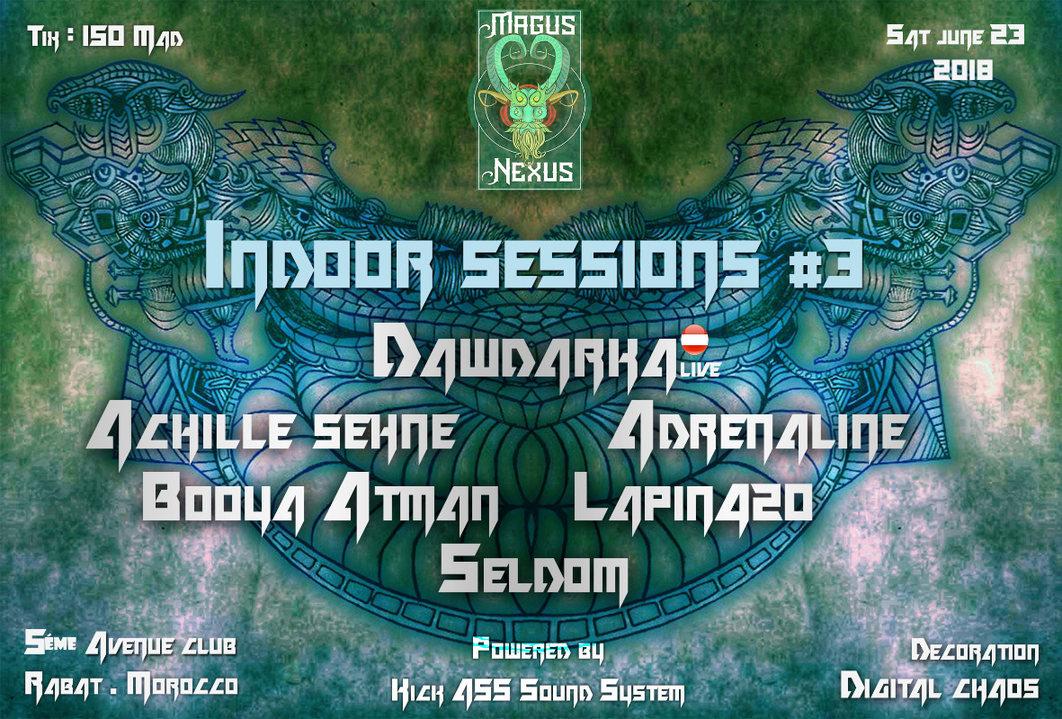 Magus Nexus: Indoor Sessions #3 23 Jun '18, 22:00