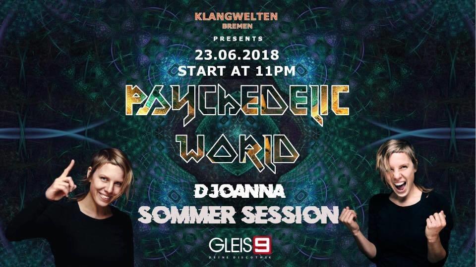 Psychedelic World I D Joanna I (GOA) proggy - Hitech 23 Jun '18, 23:00