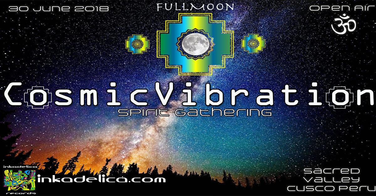 Cosmic Vibration 30 Jun '18, 14:00