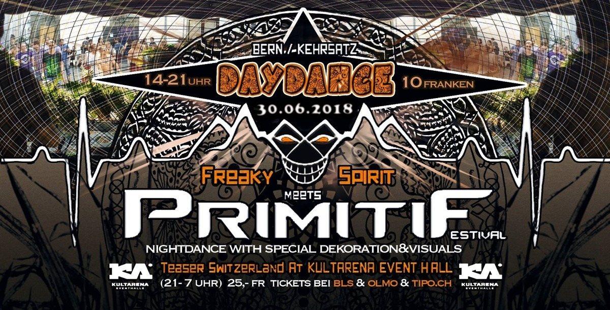 Freaky Spirit meets Primitif Festival (OpenAir DayDance) 30 Jun '18, 13:30