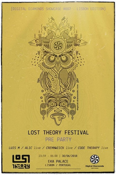 Lost Theory Festival - PreParty [Digital Diamonds Showcase #007] 30 Jun '18, 23:30
