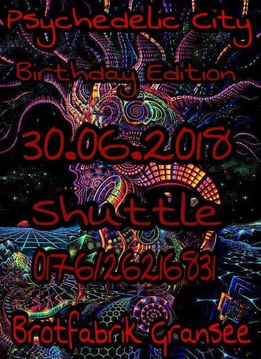 Psychedelic City 30 Jun '18, 22:00