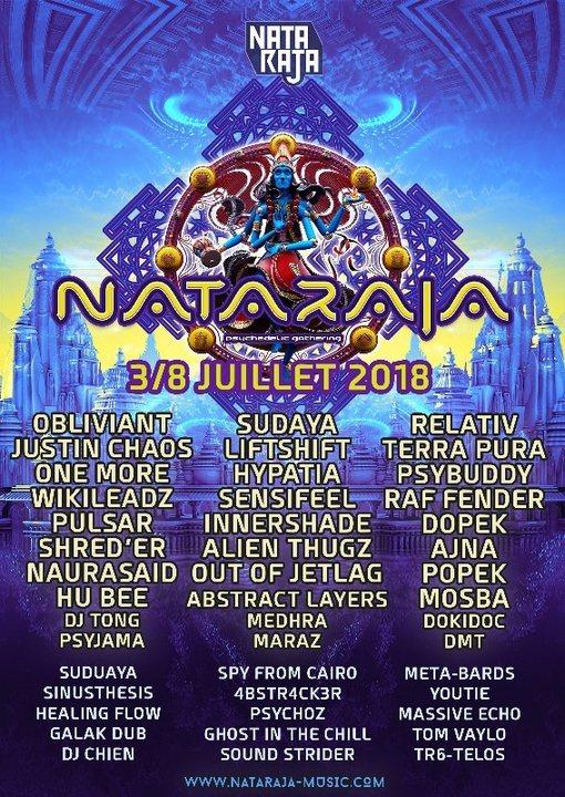 Nataraja Psychedelic Gathering 2018 (India Edition) 5 Jul '18, 18:00