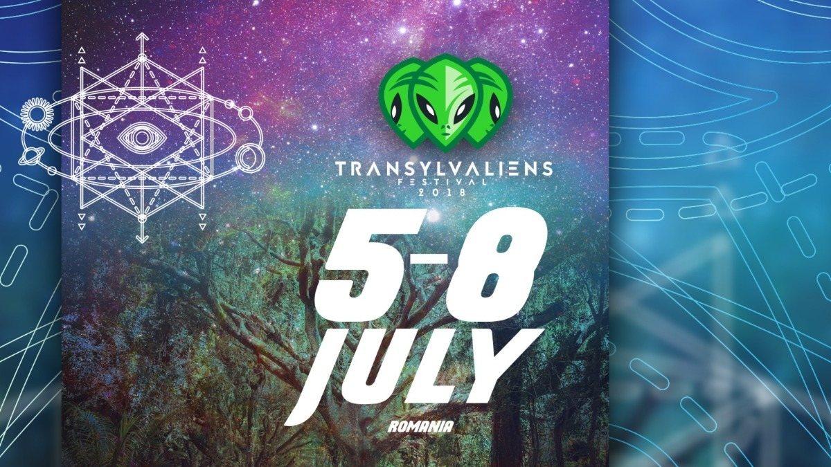 Transylvaliens Festival 2018 - 5th year anniversary edition 5 Jul '18, 20:00
