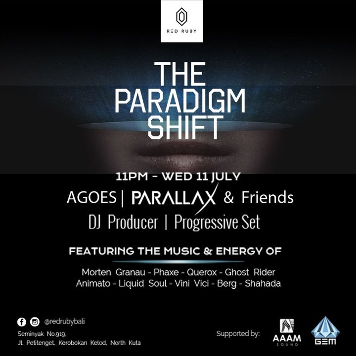 The Paradigm Shift 11 Jul '18, 23:00