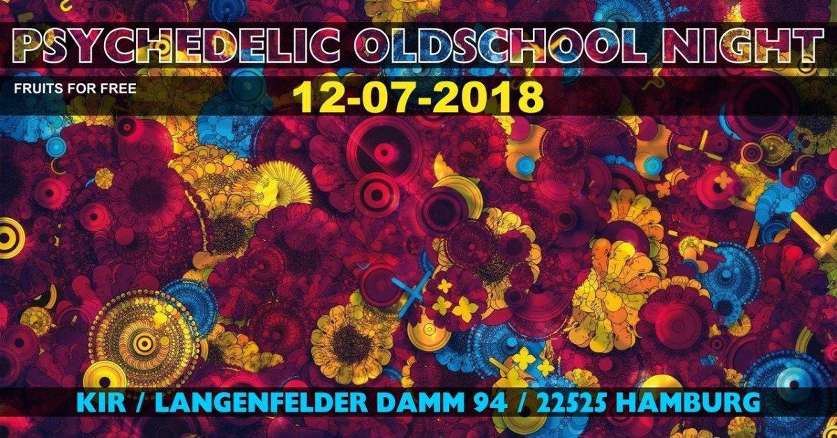 ॐ Psychedelic Oldschool Night ॐ 12 Jul '18, 21:00