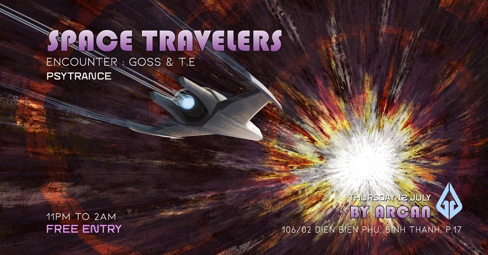 Space Travelers #4 Trap In The Void · 12 Jul 2018 · Ho Chi Minh City