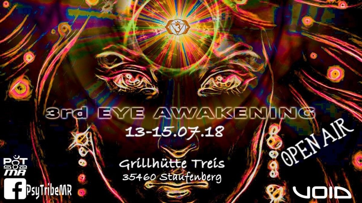3rd Eye Awakening (Open Air) 13 Jul '18, 22:00
