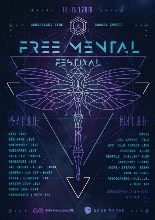 Freemental Festival - Alpha Edition 13 Jul '18, 15:00