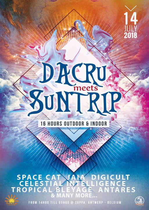 Dacru meets Suntrip ~ 16 hours outdoor & indoor 14 Jul '18, 14:00