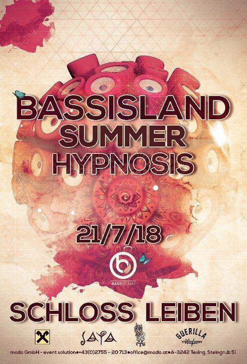 Bass Island Summer Hypnosis 2018 21 Jul '18, 21:30