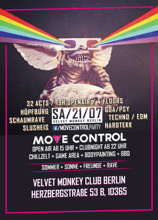 Move Control OpenAir 2 mit Hüpfburg & SchaumFloor + Clubnight 21 Jul '18, 15:00