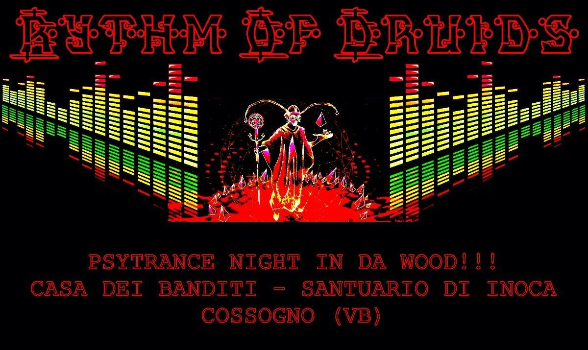 Rythm Of Druids // Psytrance Night In Da Wood // Open Air 21 Jul '18, 20:00