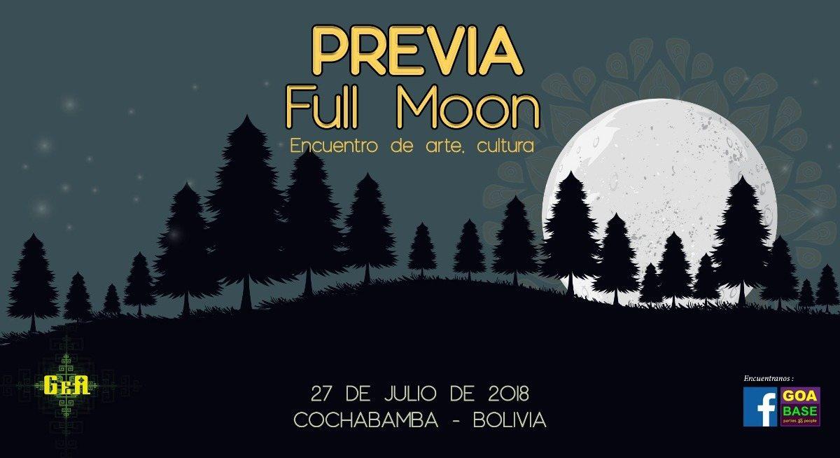 Full moon dance, PREVIA 27 Jul '18, 15:00
