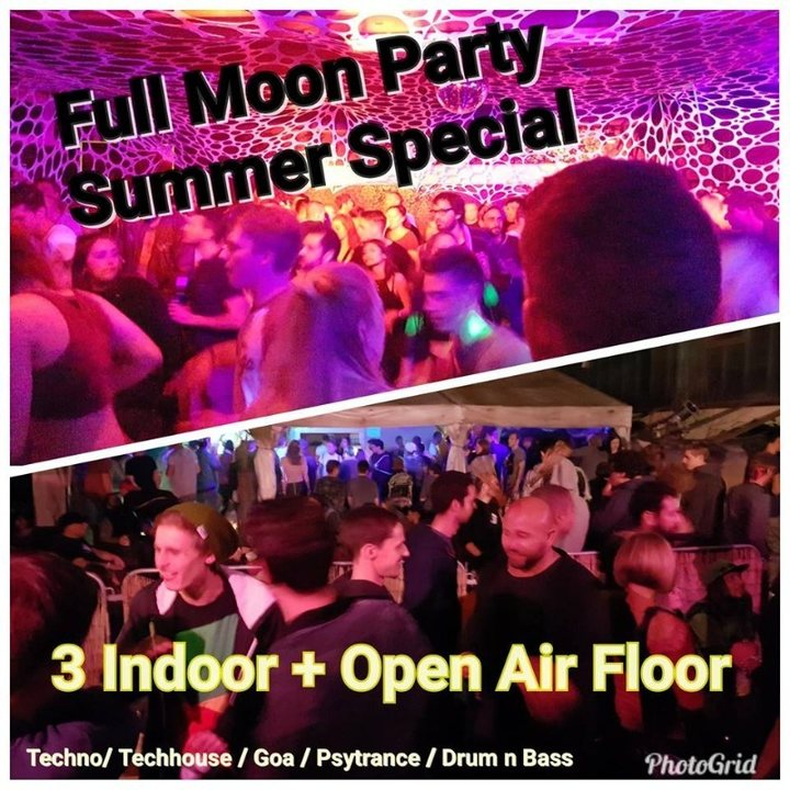 Full Moon Party Mondfinsternis Special 27 Jul '18, 21:00