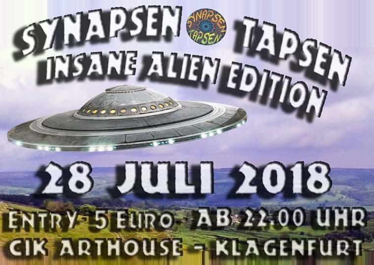 Synapsen Tapsen - Insane Alien Edition 28 Jul '18, 22:00