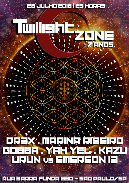 Twillight Zone | 7 Anos 28 Jul '18, 23:00