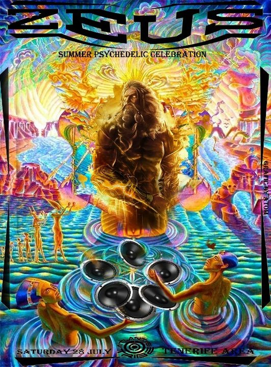 ZEUS - SUMMER PSYCHEDELIC CELEBRATION 28 Jul '18, 22:00