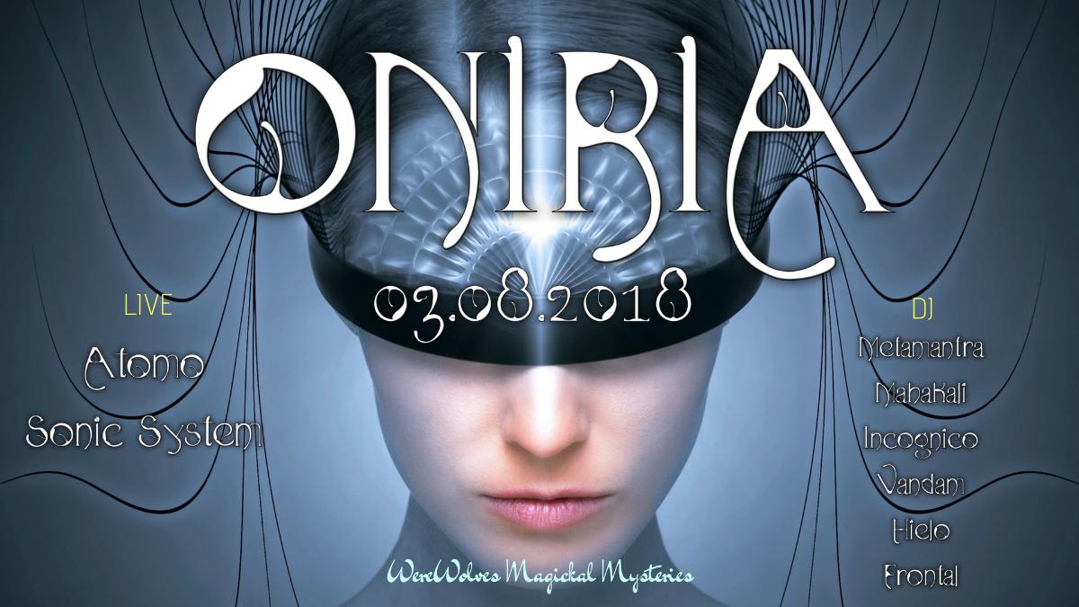 ∙∙∙∙∙·ᵒᴼᵒ Oniria ᵒᴼᵒ·∙∙∙∙∙ 3 Aug '18, 21:00