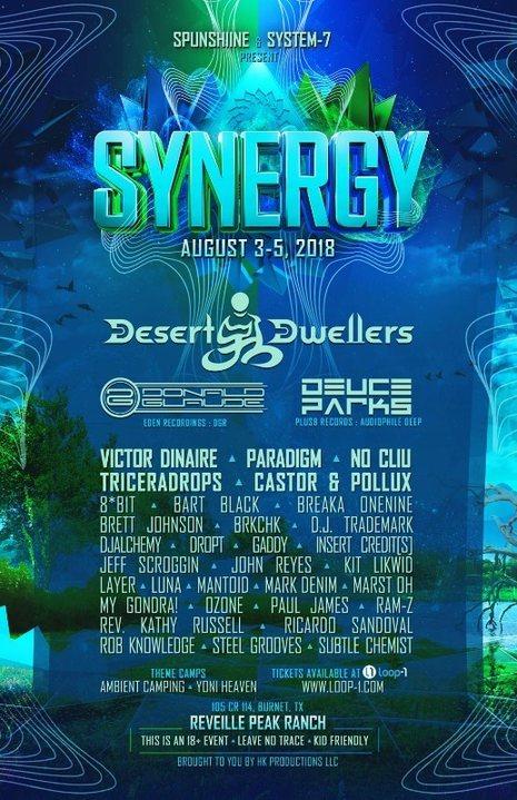 Synergy 3 Aug '18, 15:00