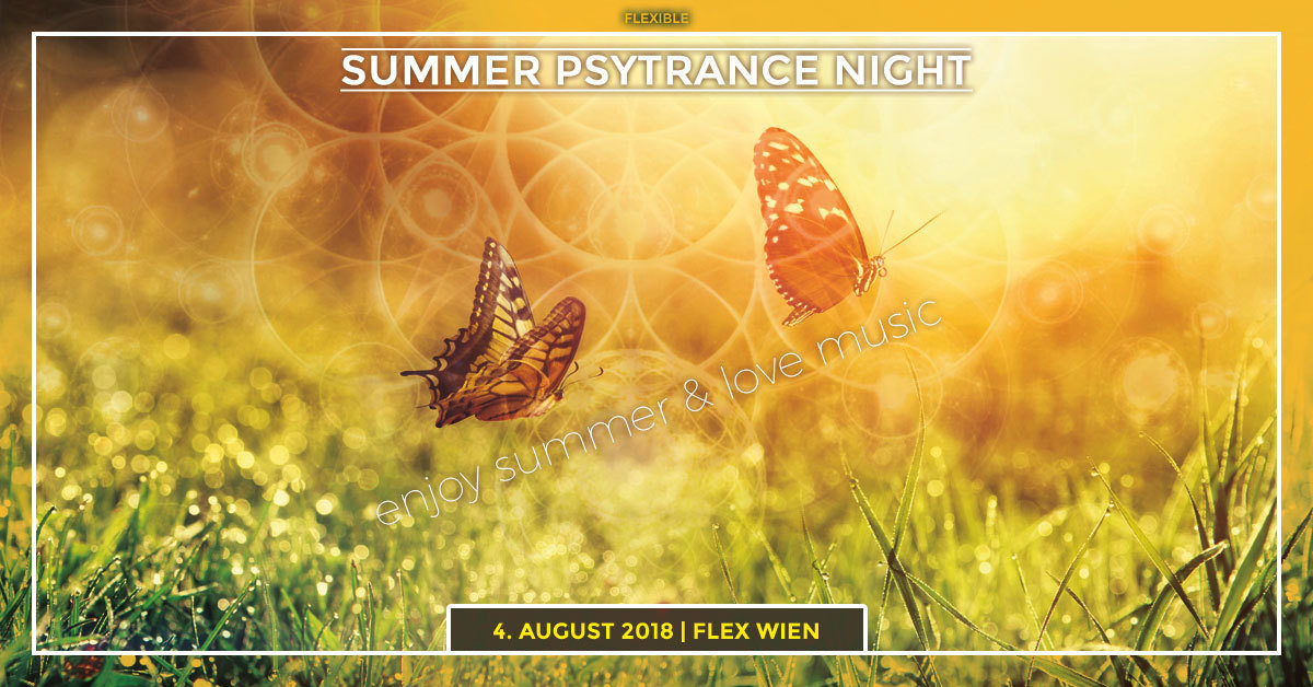 "Flexible "" Summer Psytrance Night "" hosted by Jaya 4 Aug '18, 23:00"