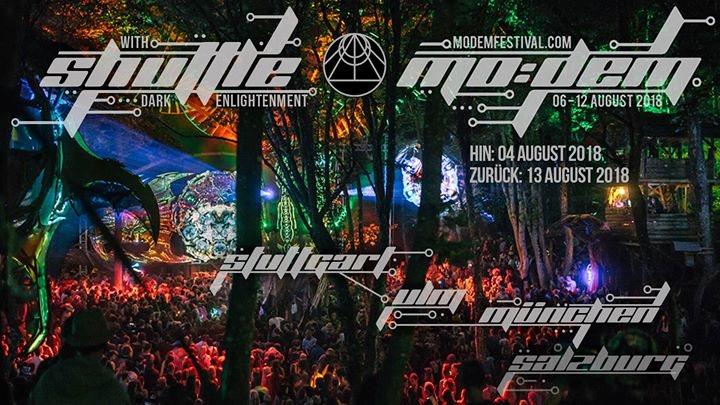 Shuttle to MoDem Festival 4 Aug '18, 21:00
